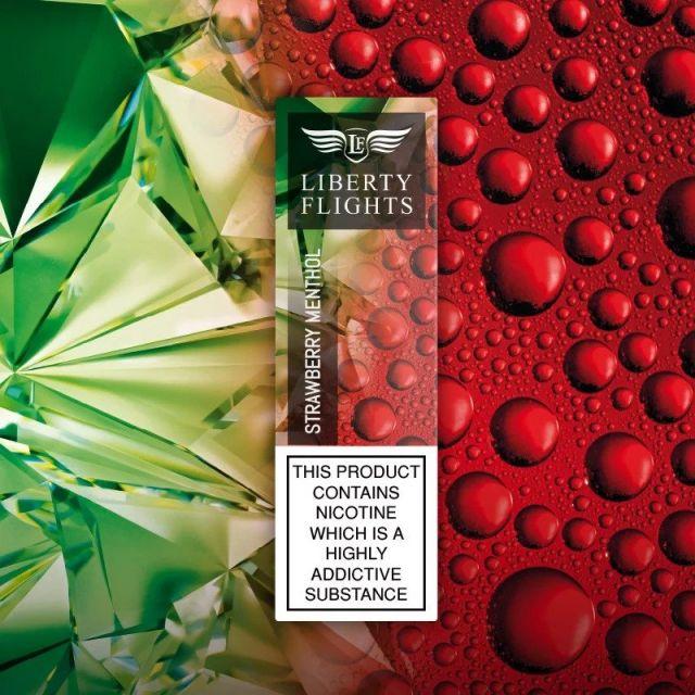 Liberty Flights E-Liquids Mint Strawberry