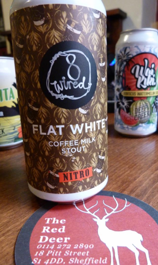 No. 8 Wired 'Flat White'