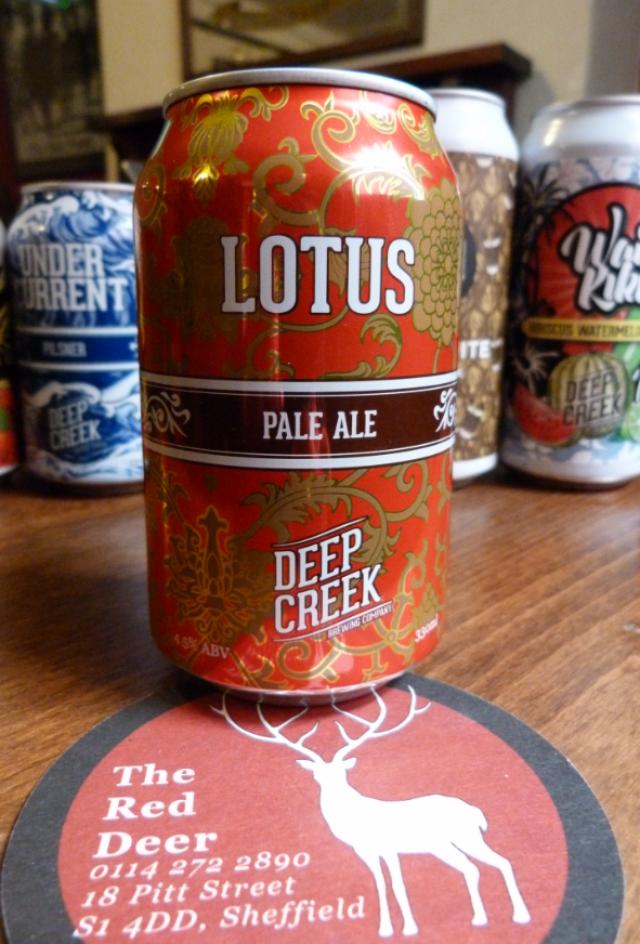 Deep Creek 'Lotus' Pale Ale