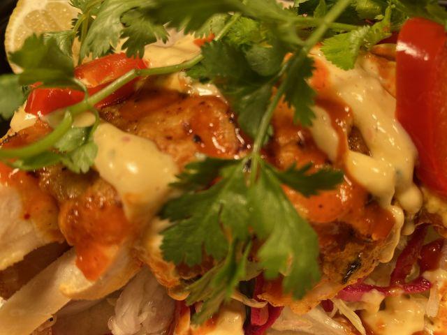 Korean Chicken Taco
