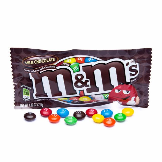 M&Ms Chocolate Bag