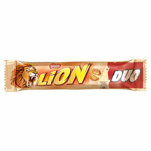Nestle White Lion Duo Bar