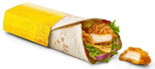 Chicken Strip wrap