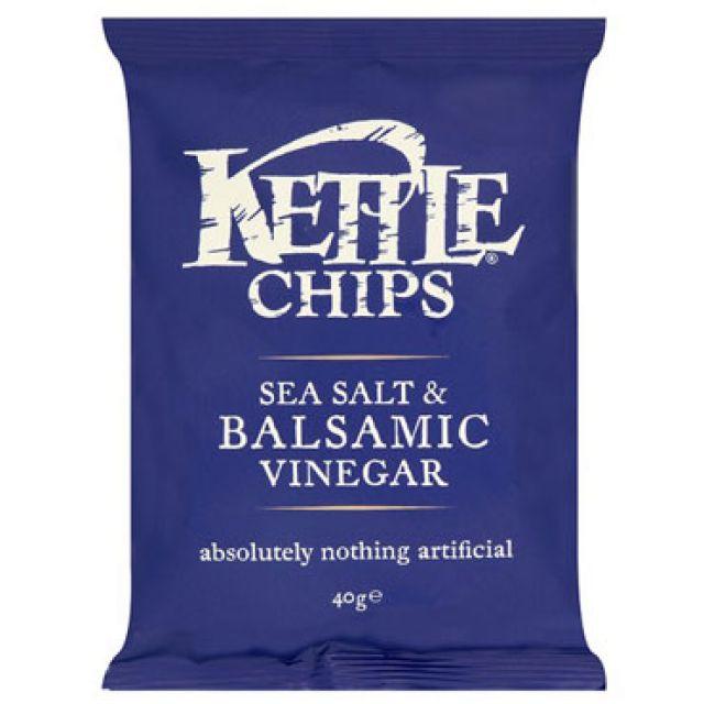 Kettle Sea Salt & Balsamic Vinegar Crisps