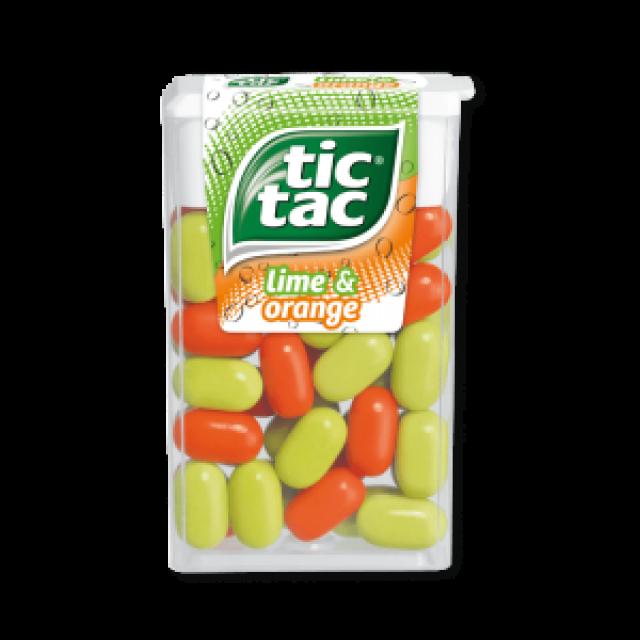 Tic Tac Lime & Orange