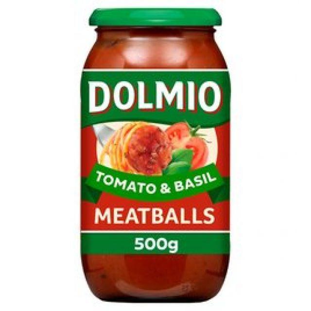 Dolmio Tomato & Basil Meatballs Sauce