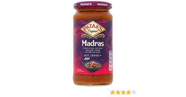 Pataks Original Madras Sauce