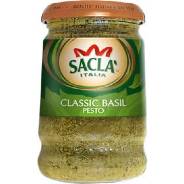 Pesto Classic Basil Sacla Italia 190g