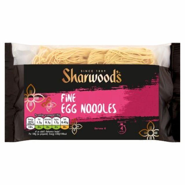 Fine Egg Noodles Sharwoods 340g