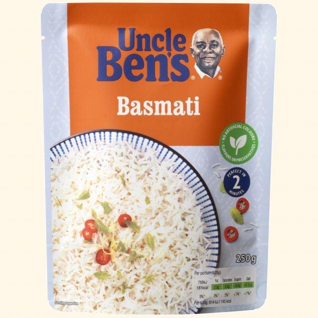 Uncle Ben Basmati Rice 250g