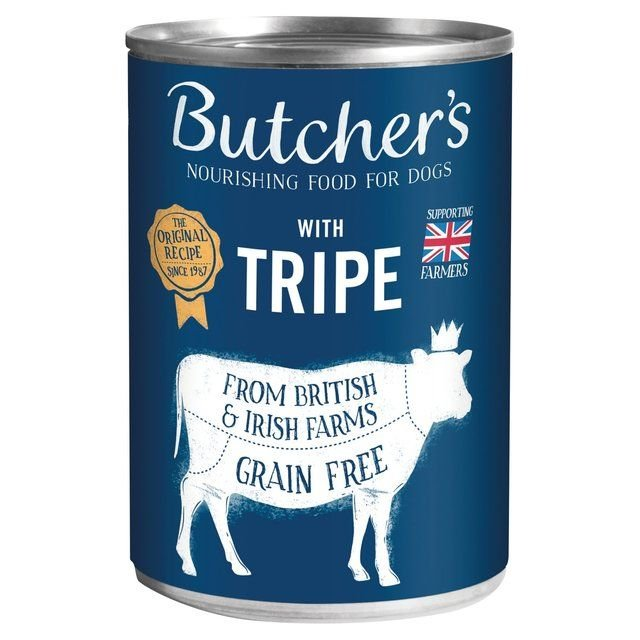 Butcher Dog Food Beef with Tripe Tin