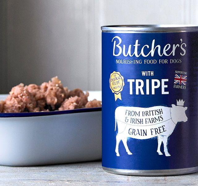 Butcher Dog Food Chicken & Tripe Tin