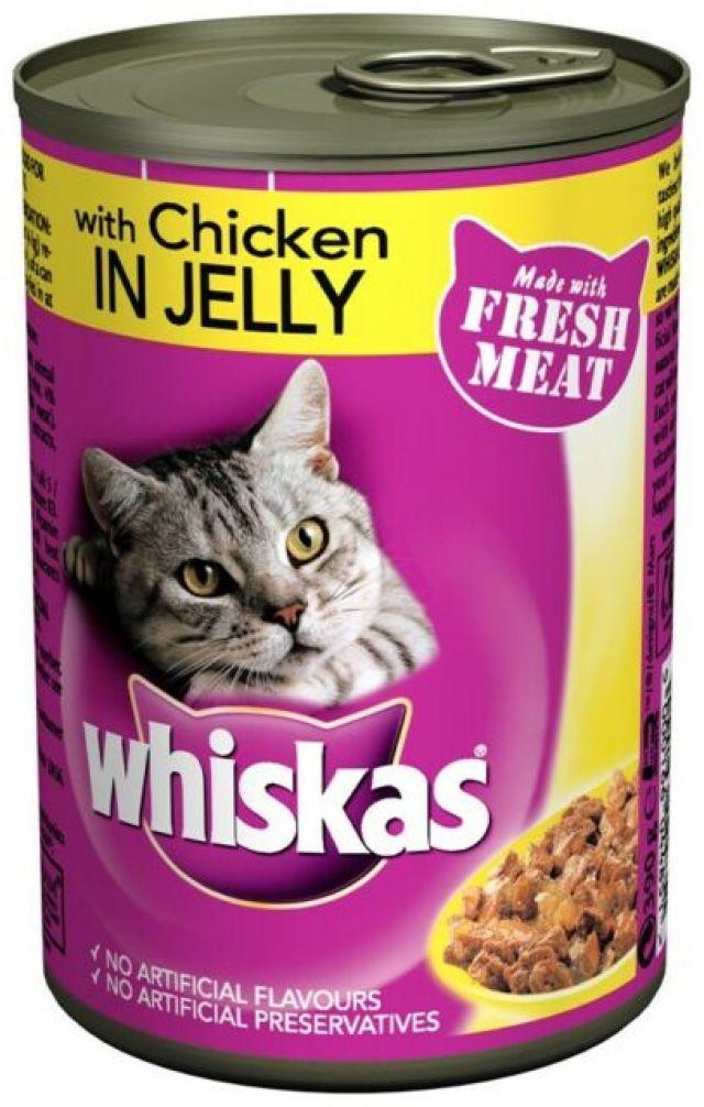 Whiskas Chicken in Jelly Tin
