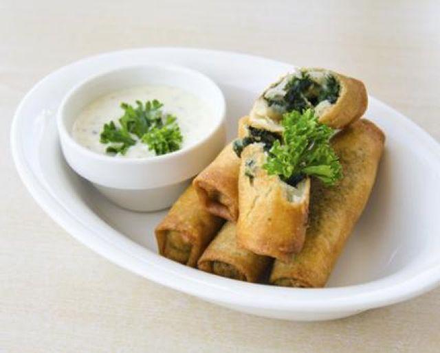 Vegetable Pancake Roll