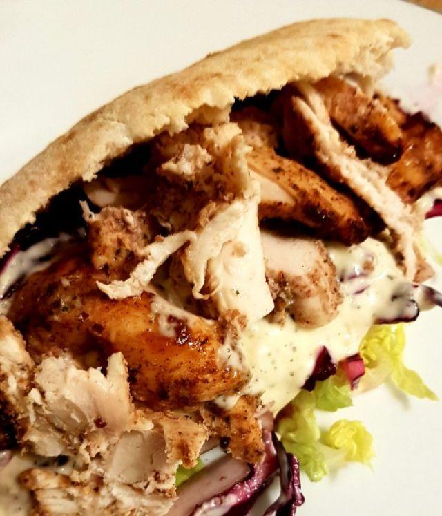 Large Chicken Doner Kebab