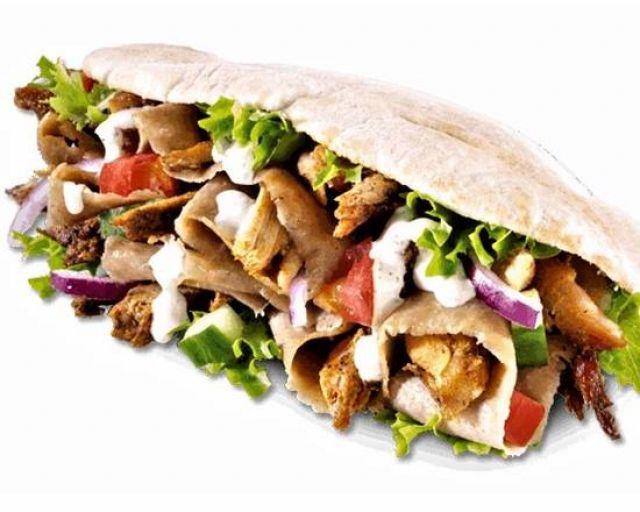 Large Mix Doner Kebab