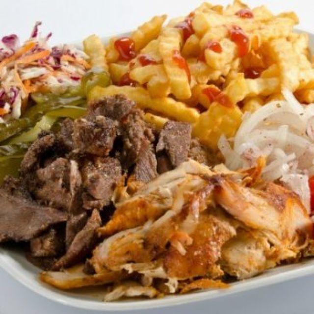 Regular Mix Doner Meat & Fries