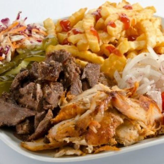 Large Mix Doner Meat & Fries