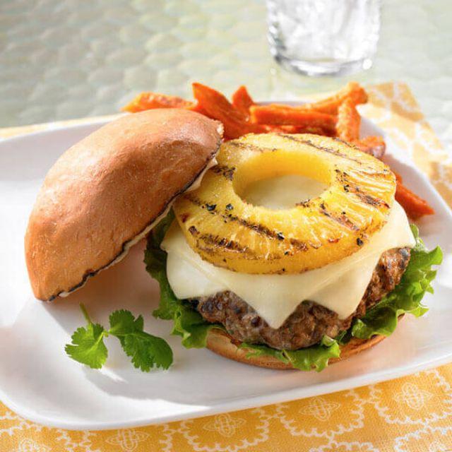 Hawaiian Gourmet Burger