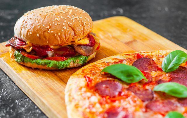 Pepperoni Gourmet Burger