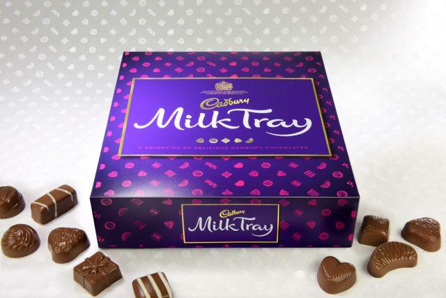 Cadbury Milk Tray Chocolate Carton