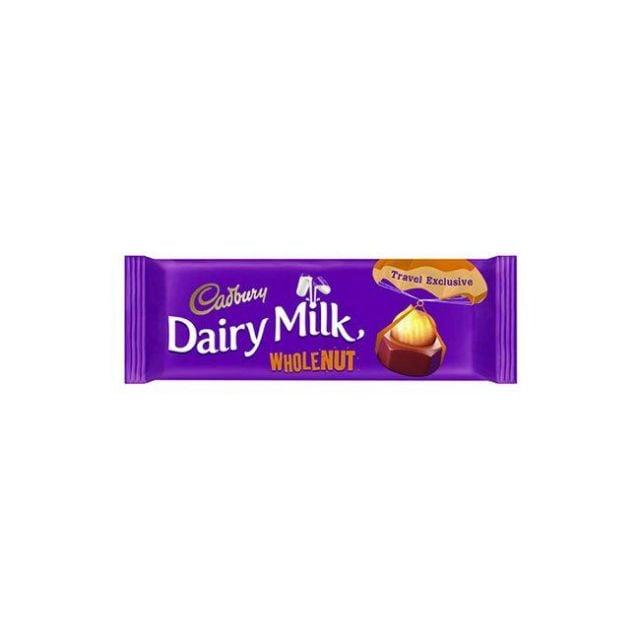 Cadbury Dairy Milk Wholenut Bar