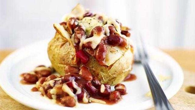 Chilli & Cream Cheese Jacket Potato