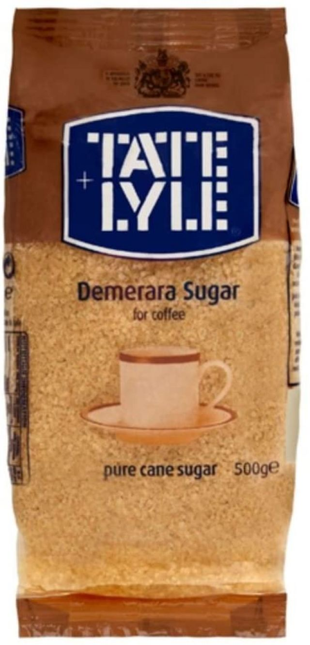 Tate Lyle Sugar Unrefined Demerara 500g