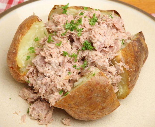 Tuna & Mayo Jacket Potato