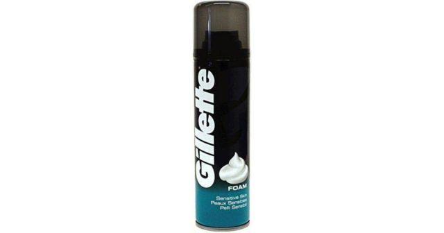 Shaving Foam Gillette Sensitive