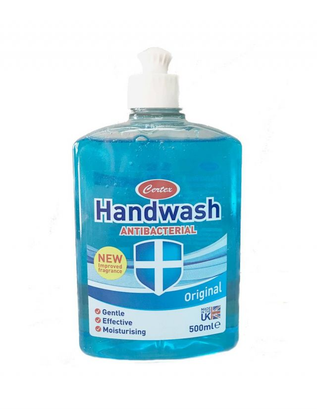 Handwash Certex Antibacterial Original 500ml