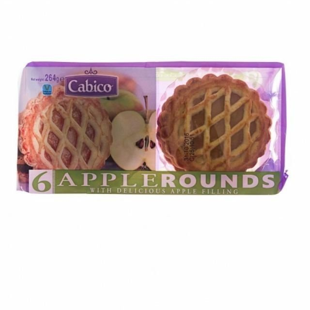 Apple Rounds Cakes 6 Pack