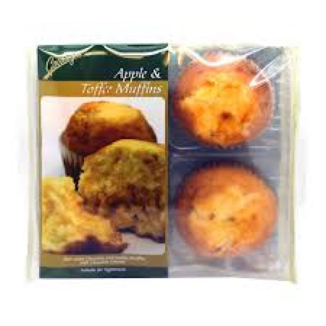 Apple & Toffee Muffins Goodwyns 4 Pack