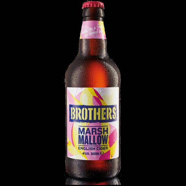 Brother Marshmallow 500ml Cider Bottle