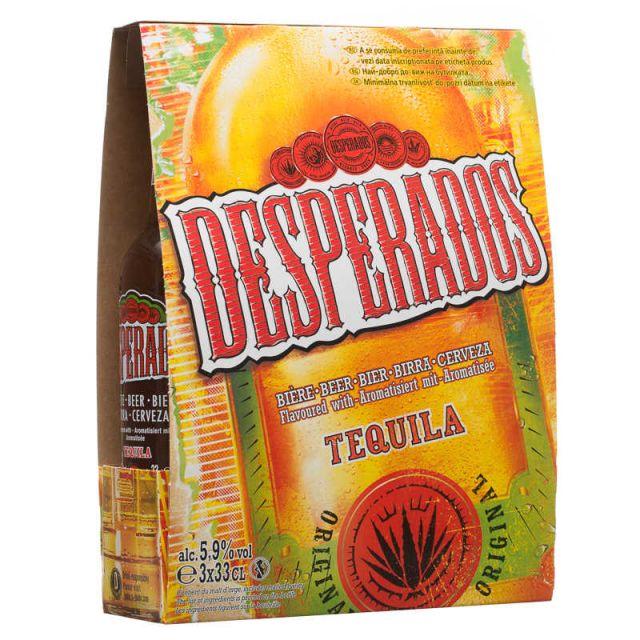 Desperados 330ml 3 pack