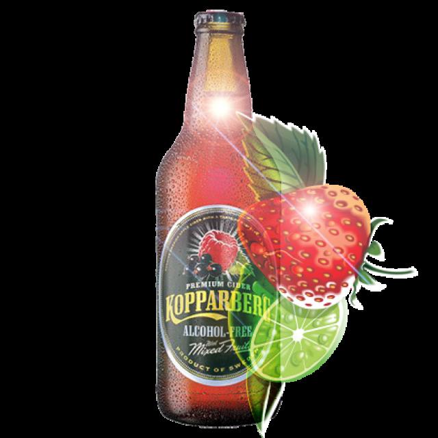 Kopparberg Strawberry & Lime 500ml Bottle
