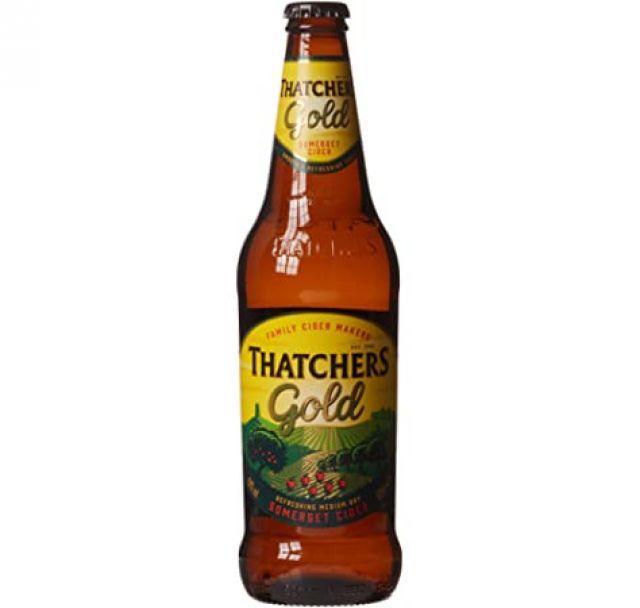 Thatcher Gold 500ml Cider Bottle