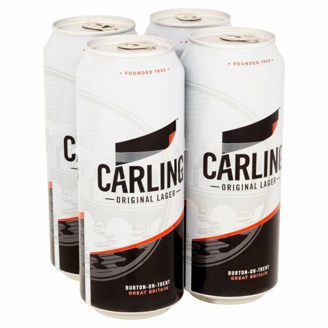 Carling 500ml 4 x Cans