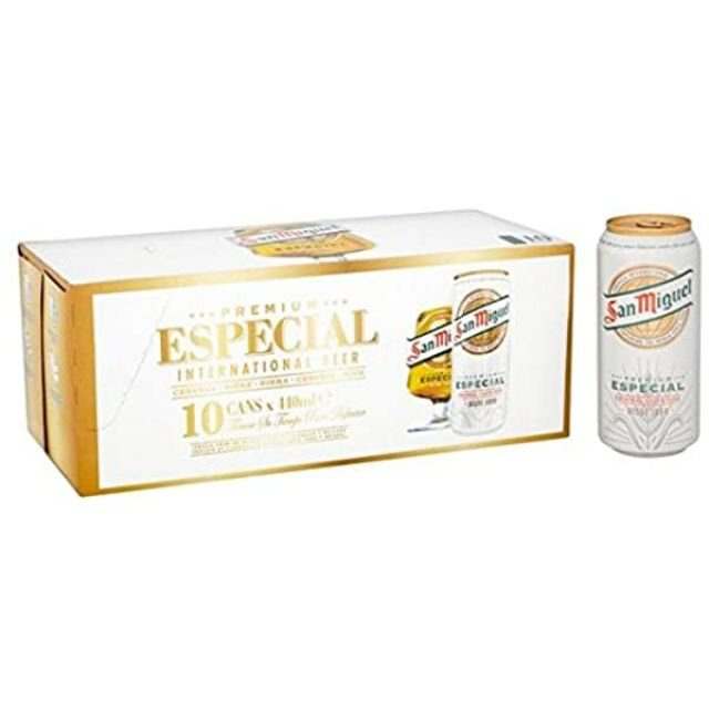 San Miguel 440ml 10 x Cans