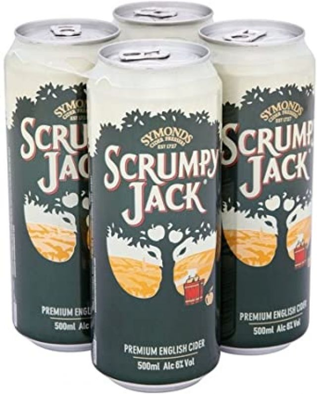 Scrumpy Jack 500ml 4 x Cans
