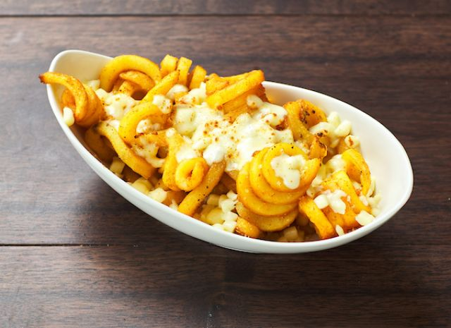 Cheesy Curly Fries