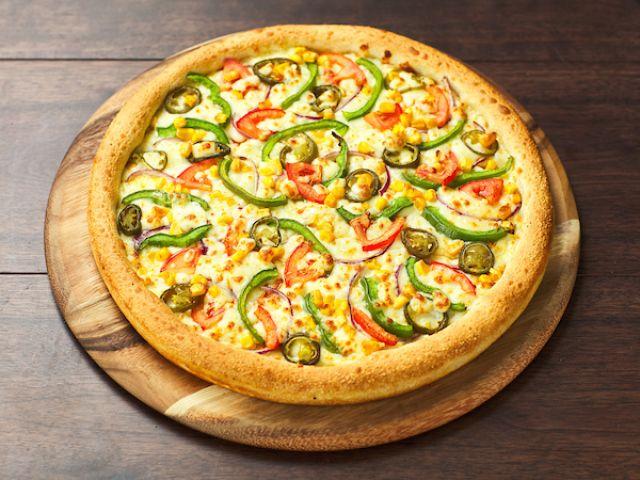 Veggie Hot Pizza