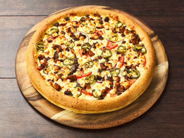 Hot BBQ Pizza