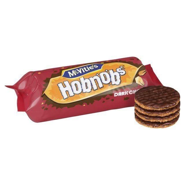 McVities Hobnob's Dark Chocolate