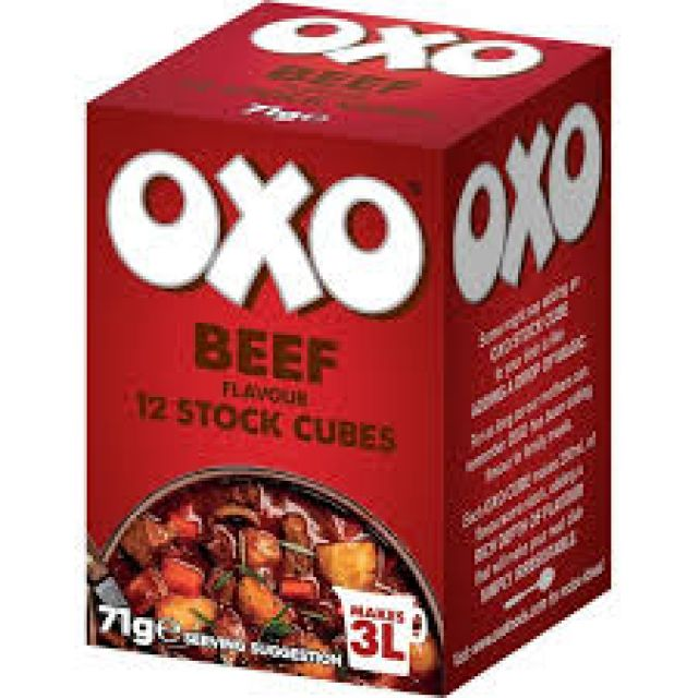 Oxo Beef 12 Cubes