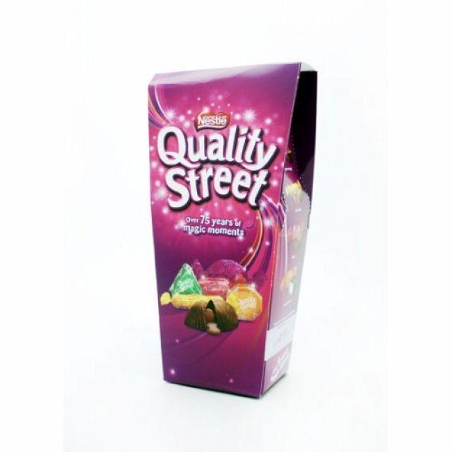 Quality Street Chocolate Carton