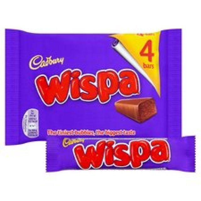 Cadbury Wispa 4 Bars Pack