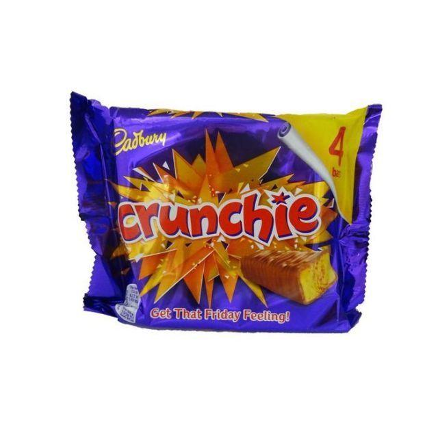 Cadbury Crunchie 4 Bars Pack
