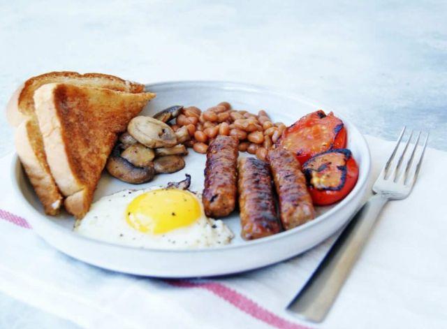 Small Veg Breakfast