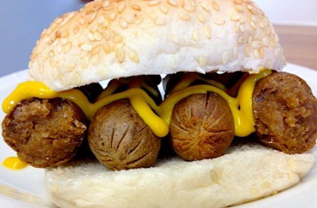 Veggie Sausage Bap